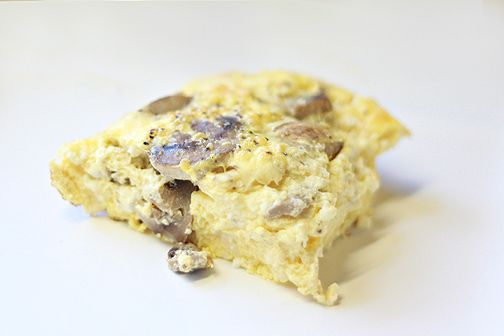 ... or Not) Tuesday #12. Day 91 Feta & Mushroom Breakfast Casserole. Yum