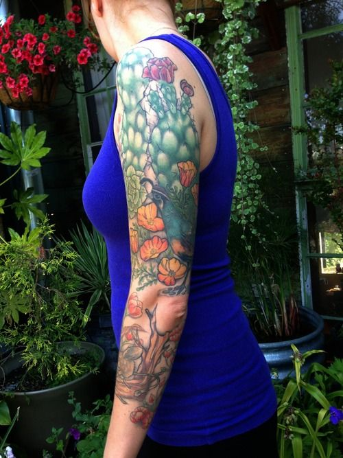 Prickly Pear Cactus Tattoo  2  cactus tattooPrickly Pear Tattoo