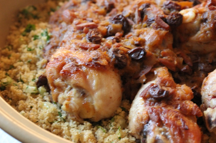 Chicken tagine with VA Apricot & Almond Cooking Sauce. To order www ...