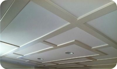 Coffered Ceiling For The Home Pinterest