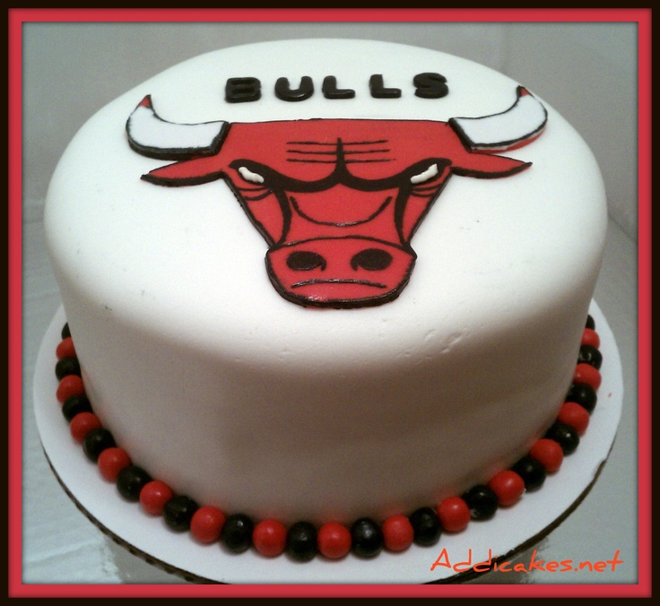 Chicago Bulls Cake...I Mean Seriously...