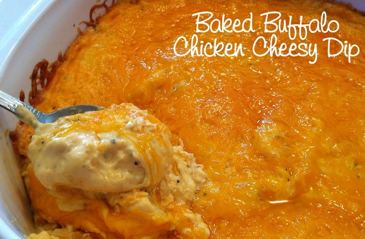 Cheesy Buffalo Chicken Dip Recipe — Dishmaps