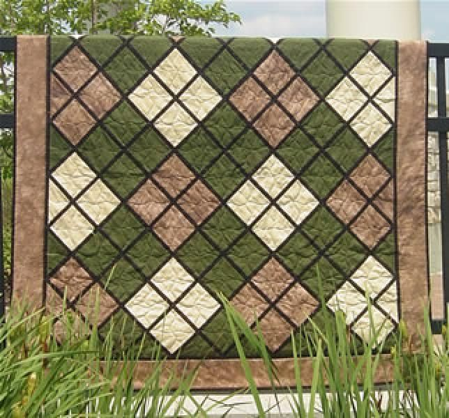 Quilt Patterns For A Man : Quilt Patterns For Men Classic Argyle Fabric love Pinterest