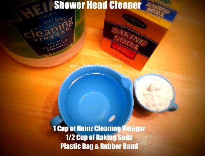 how to clean shower screen with vinegar