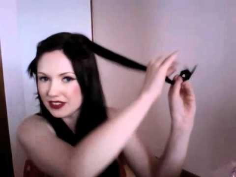 Pin curls for beginners | Tutorials