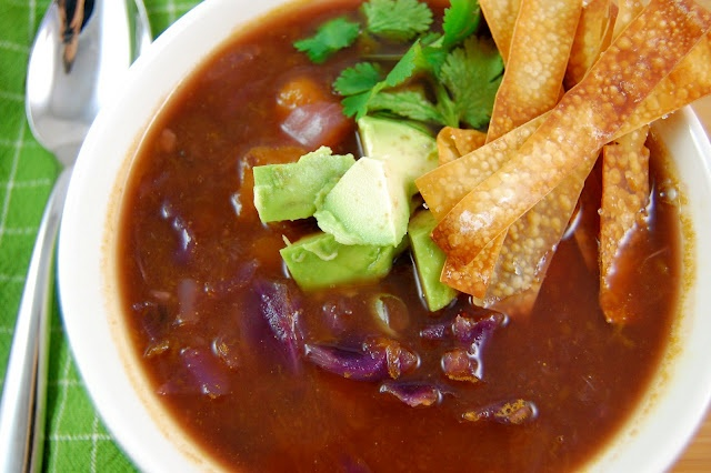 Butternut Squash and Black Bean Soup | Recipes to try | Pinterest