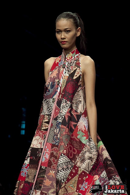 edward hutabarat's batik dress