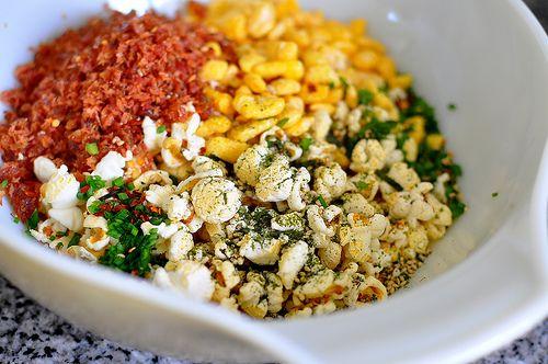 furikake popcorn | Food: Snacks and Appetizers | Pinterest