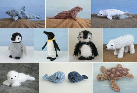 Adorable crochet animals
