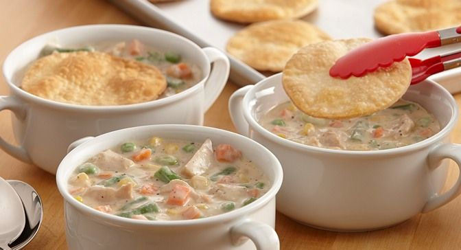 Sage and Turkey Pot Pie Soup : All the flavors of turkey pot pie are ...