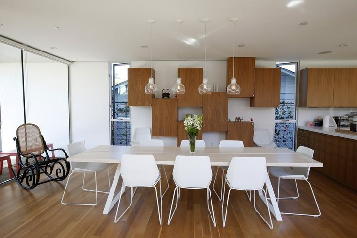 Distance Between Pendant Lights Over Dining Table : Pin by los angeles times home garden on kitchen