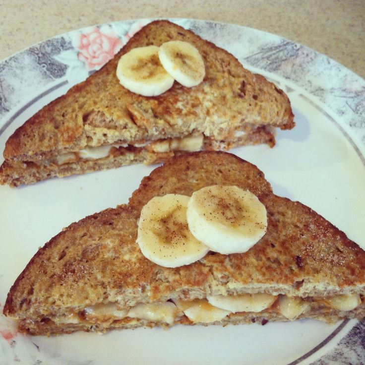 Peanut butter & banana French Toast | cookingclass// | Pinterest