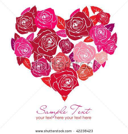 valentine rose craft