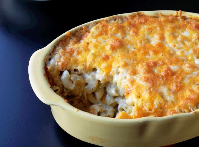 Roasted Green Chile Mac and Cheese