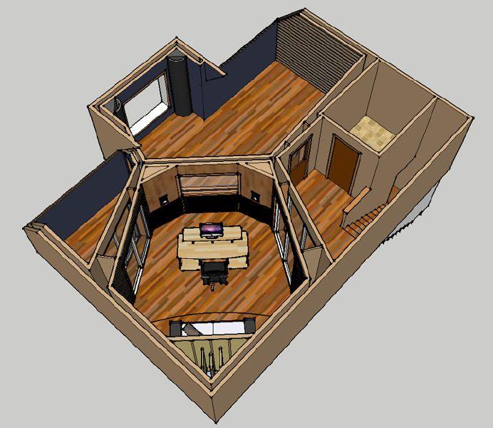 Floor plans for small recording studio joy studio design for Best flooring for recording studio
