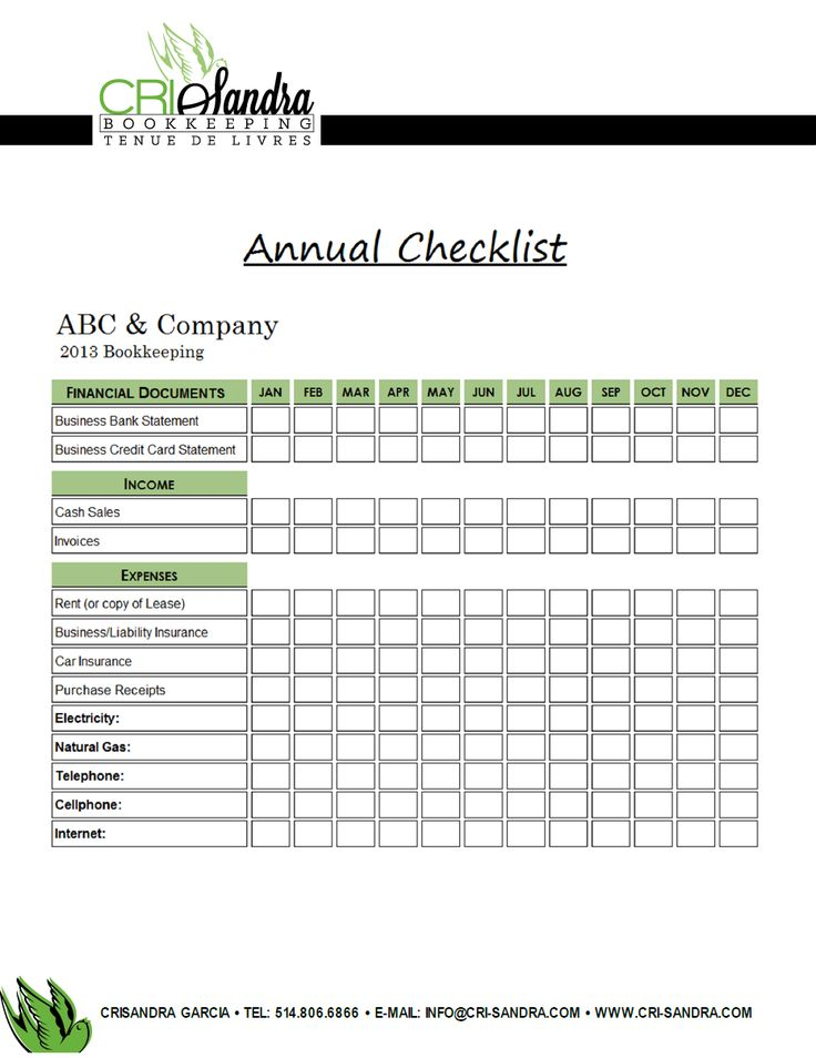 doc checklist steps to planning an annual meeting D