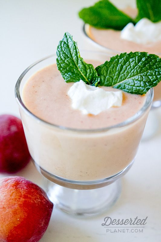 Chilled Peach Soup! Favorite cold dessert on a hot summer day ...