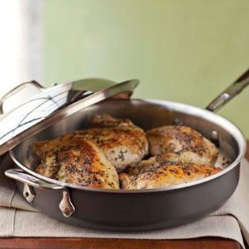 Pan-Roasted Chicken with Herbes de Provence Recipe - ZipList