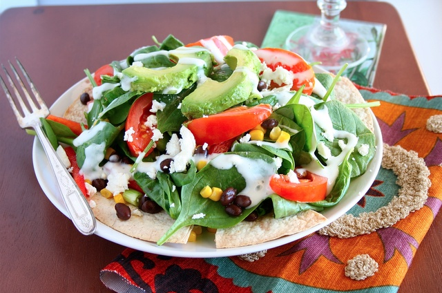 Veggie Burrito Salad | Food | Pinterest