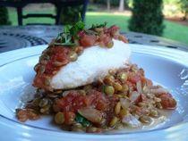 Cod With Lentils | My Kitchen - Soups and pottages | Pinterest