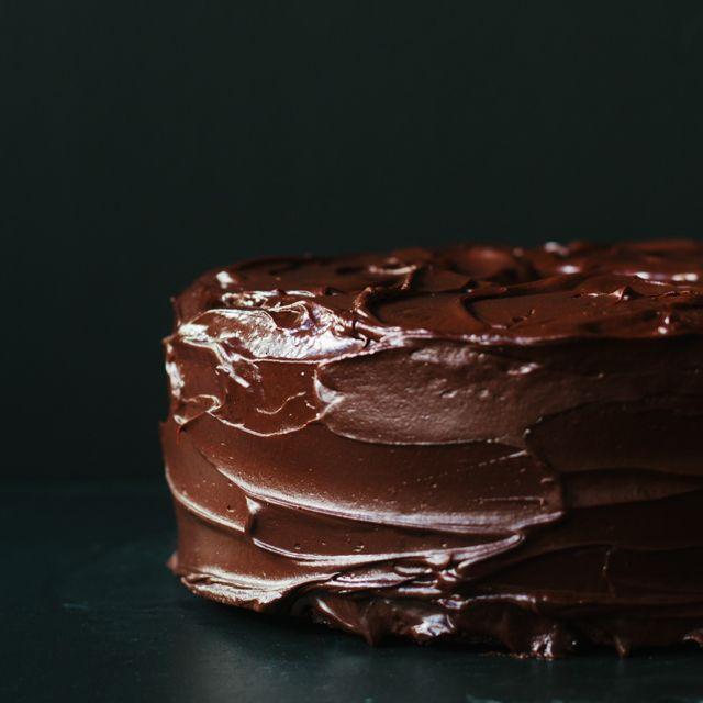 Chocolate Cherry Pound Cake - http://www.pingirls.com/chocolate-cherry ...