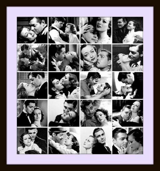 Compilación de imagenes de los clásicos entre Joan Crawford y Clark Gable: Danzad locos danzad (1931), Salvada (1931, Amor en venta (1931) Alma de bailarina (1933) Encadenada (1934), Cuando el diablo asoma (1934), Amor entre espías (1936), Extraño cargamento (1940)
