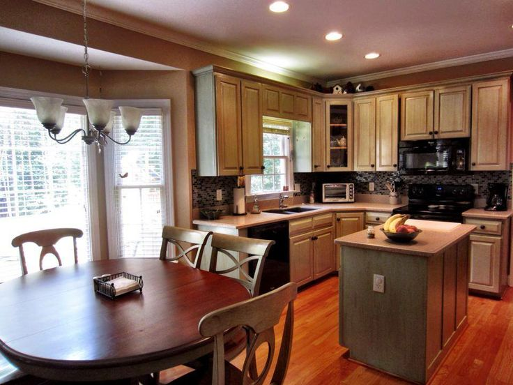 The finished product. A Raleigh NC kitchen from July, 2013