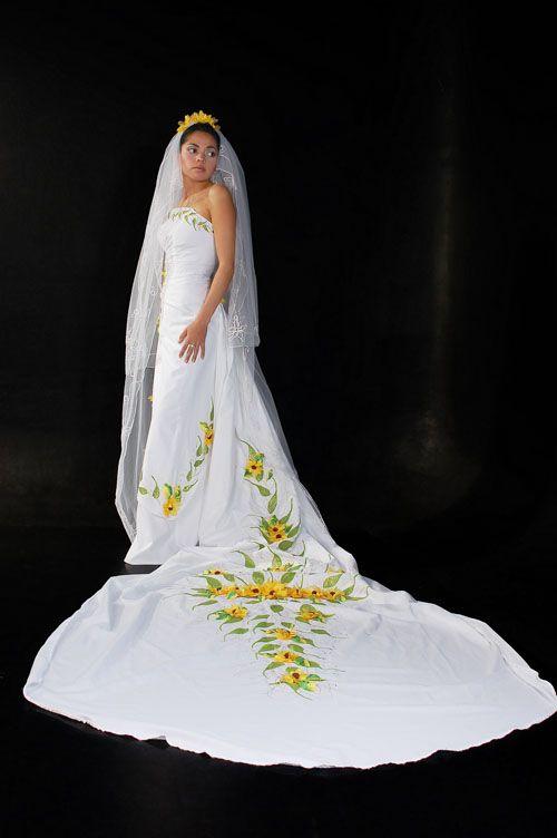 vestido de manta pintado a mano   Vestidos!!   Pinterest