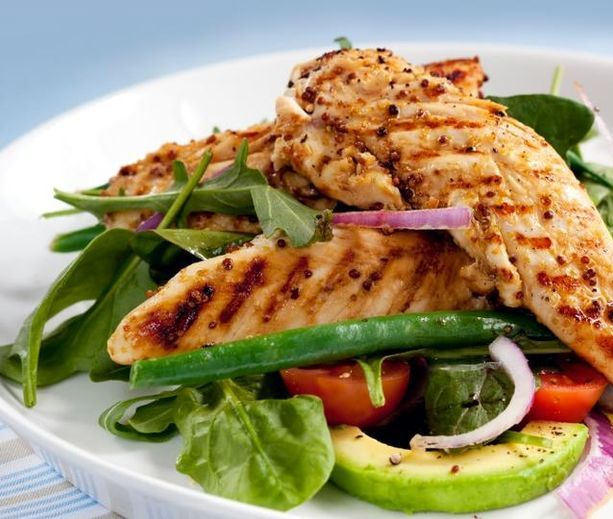 Grilled Chicken Salad | diabetic friendly | Pinterest