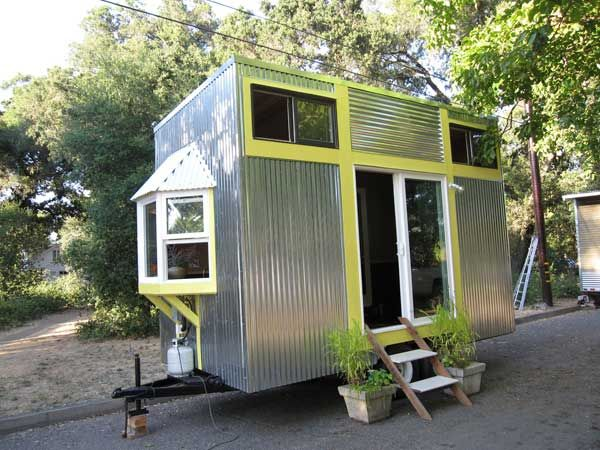 Tiny House Tiny homes on wheels Inside Out Pinterest