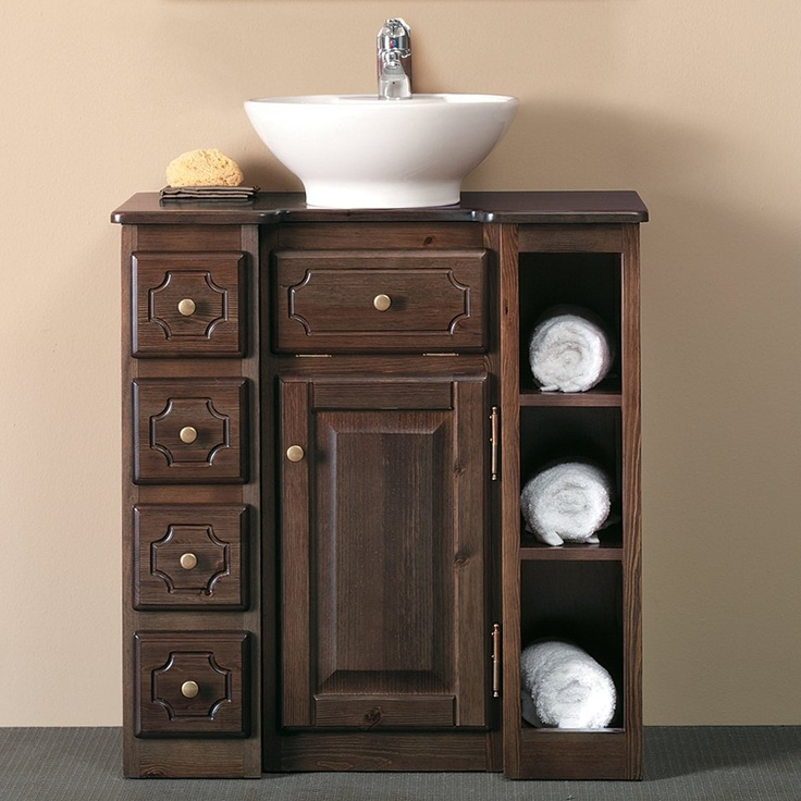 Brilliant  Rustic Bungalow Vanity Home Products Refined Rustic Bungalow Vanity