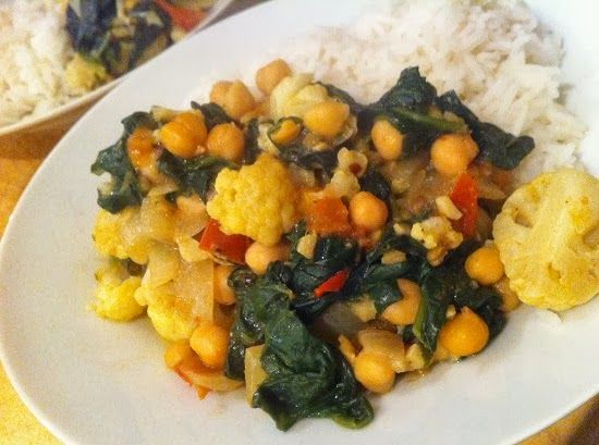 Spinach and Chickpea cuzza | Foodspiration | Pinterest