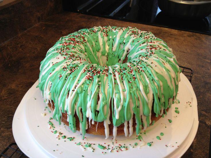 Christmas Bundt Cake Images : Christmas Bundt Cake Food Pinterest