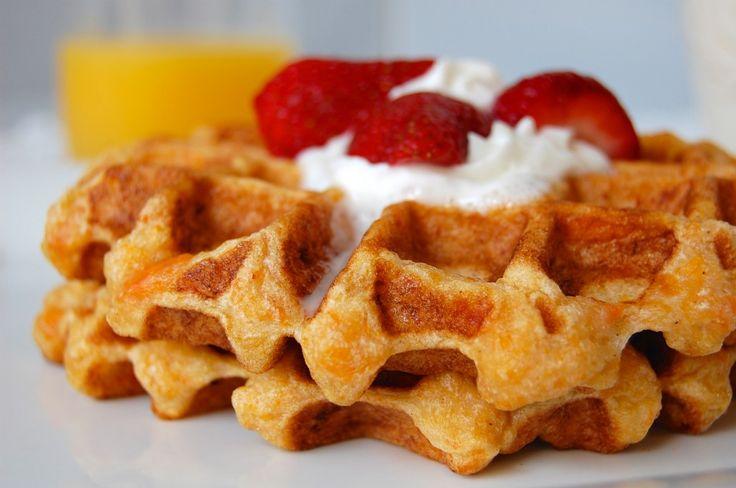 sweet potato waffles | Breakfast | Pinterest
