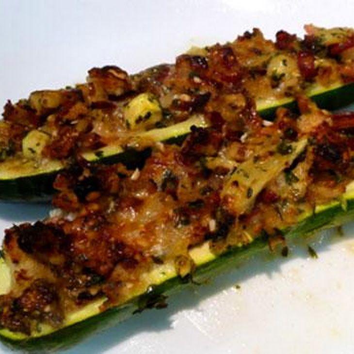 Stuffed Zucchini Boats | NOM NOM NOM!!! | Pinterest