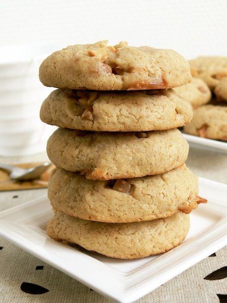 Cashew Caramel Cookies. | Food & Recipes | Pinterest