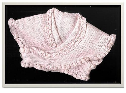 Machine Knitting Patterns Baby Shawl 103