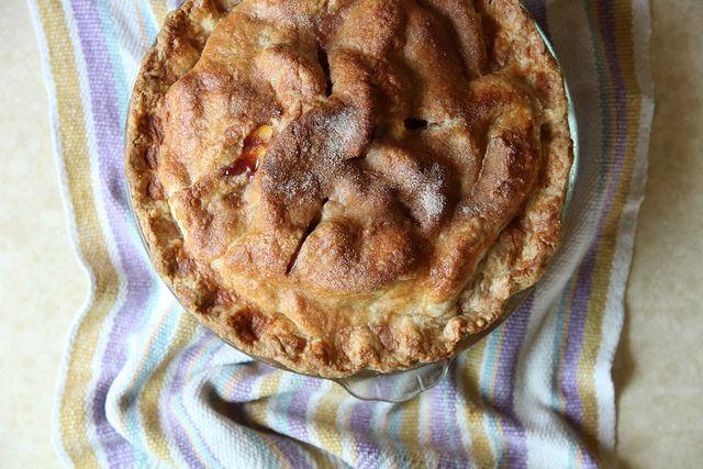 Peach Blueberry Pie | Favorite Recipe's | Pinterest