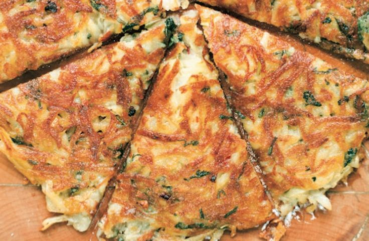 Potato Galettes with Sage Recipe | Breakfast & Brunch | Pinterest