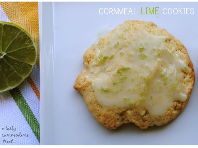 cornmeal lime cookies | Sweets | Pinterest