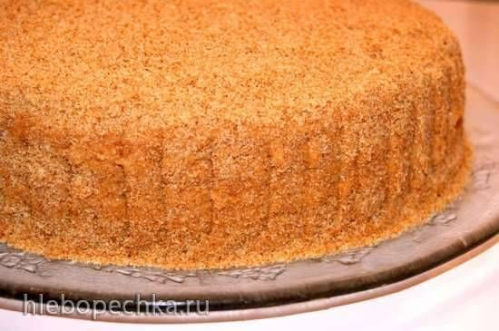 Торт с толстыми коржами рецепт пошагово