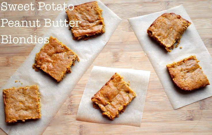... : peanut butter , vegan sweet potatoes and peanut butter brownies