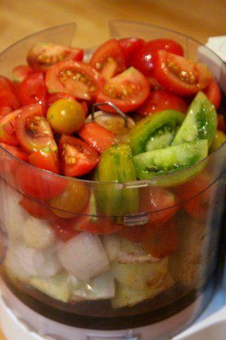 Heirloom Tomato Gazpacho | delicious | Pinterest