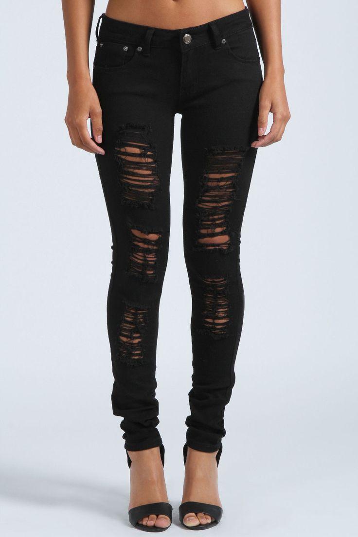 Chloe Ripped Skinny Jeans | fashion | Pinterest