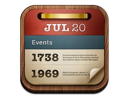 On this day iOS App Icon