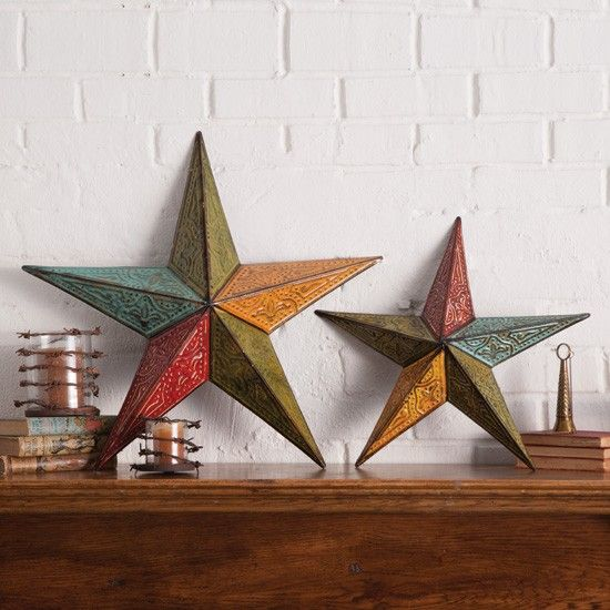 Western star wall decor for the home pinterest for Star home decorations