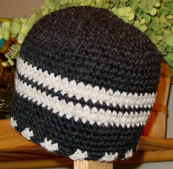 PDF Crochet Pattern for Set of Mens Rugged Hats in 3 Styles