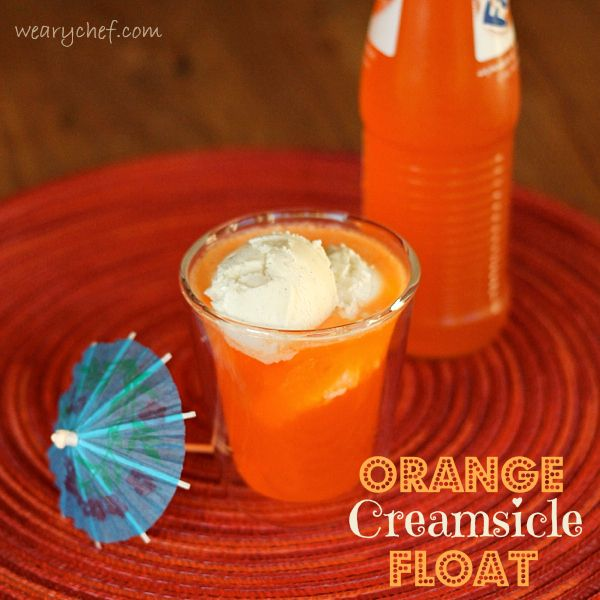 Orange Creamsicle Float - Make it as a cocktail or a kid-friendly ...