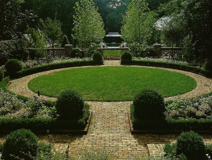 Formal garden landscaping pinterest for Formal garden