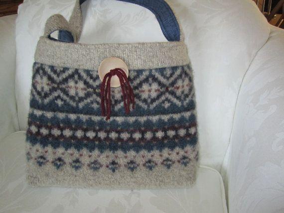 Wool Sweater Purse Pattern 106